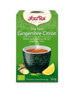 Yogi Tea Thé Vert Gingembre Citron 17 Infusions
