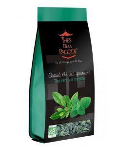Thé Vert à la Menthe Bio Thé de la Pagode 110g