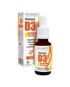 D.Plantes Vitamine D3 Huile 20 ml