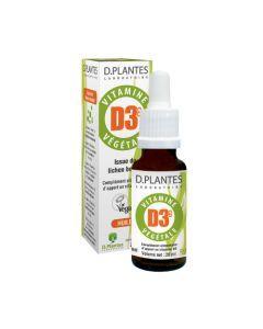 D.Plantes Vitamine D3 Végétale 20 ml