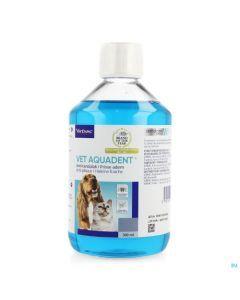 Virbac Vet Aquadent Anti-Plaque Haleine Fraiche Chats et Chiens 500ml