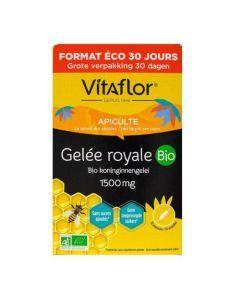 Vitaflor Gelée Royale Bio 1500mg 30 Ampoules
