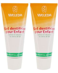 Weleda Dentifrice Enfant Lot de 2x50ml