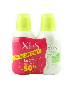 XLS Draineur Express Lot de 2x500ml