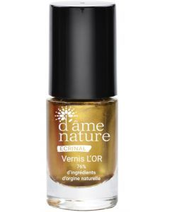 D'AME NATURE VERNIS OR 5ML