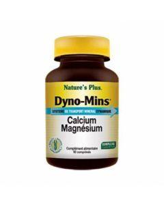 Nature's Plus Dyno Mins Calcium Magnesium 90 comprimés