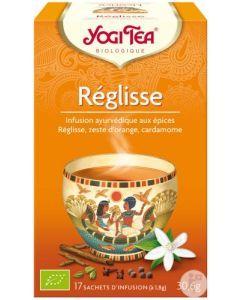 Yogi Tea Réglisse 17 Infusions