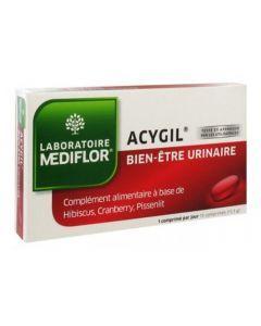 Mediflor Acygil Gènes et Sensibilités Urinaires 15 Comprimés