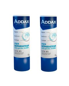 Addax Stick Lèvres Réparateur Lot de 2x4g
