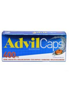 Advilcaps 400 mg