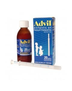 Advilmed enfant-nourrisson suspension buvable 20 mg/ml