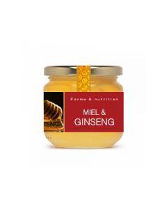 Agovie Miel au Ginseng 250g