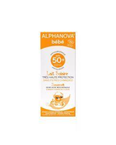 Alphanova Bébé Lait Solaire Bio SPF50+ Tube 50ml