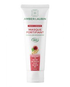 Amber & Aubin Chevelure Redensifiée Masque Fortifiant Bio Tube 200ml