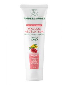 Amber & Aubin Cheveux Colorés & Méchés Masque Révélateur Bio Tube 200ml