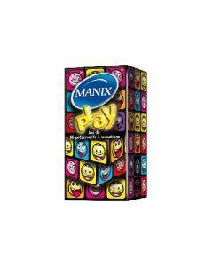 Manix Play Jeu de 16 Préservatifs à Sensations
