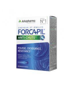 Forcapil Anti-Chute Cheveux et Ongles 2+1 mois