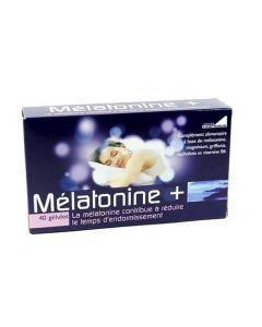 Exopharm Melatonine+ étui de 40 gélules
