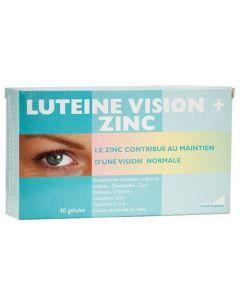 Exopharm Luteine Vision + Zinc Boite de 40 gélules