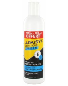 Apaisyl Anti Poux Xpress 15' Lotion 2 en 1 - 300ml