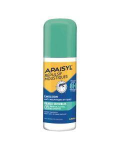 Apaisyl Répulsif Moustiques Émulsion Peaux Sensibles Spray 90ml