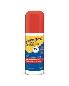 Apaisyl Répulsif Moustiques Lait Haute Protection Spray 90ml