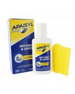 Apaisyl Poux Anti-poux et Lentes 100ml + Peigne