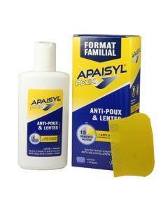 Apaisyl Poux Anti-poux et Lentes 200ml + Peigne