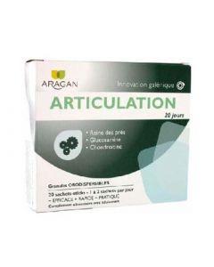 Aragan Articulation 20 Jours Granules Orodispersibles X20 Sachets