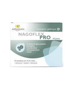 Aragan Nagoflex Pro Articulation Cure de 10 Jours 10 Monodoses de 10ml