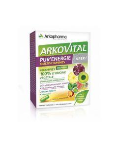 Arkopharma Arkovital Pur'Énergie Multivitamines Expert 30 Comprimés