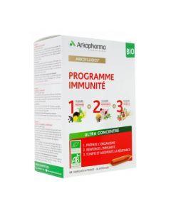 Arkofluides Bio Programme Immunité 30 Ampoules