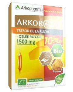 Arkopharma ArkoRoyal Trésor de la Ruche Bio 30 Ampoules