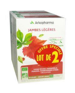 Arkopharma Arkofluide Jambe Légère 2 X 20 Ampoules