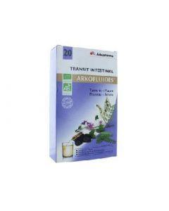 Arkopharma Arkofluides Transit Intestinal 20jours 20 Ampoules
