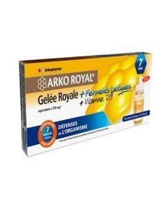 Arkopharma Gelee Royale + Ferments Lactiques Adulte 7 Unidoses
