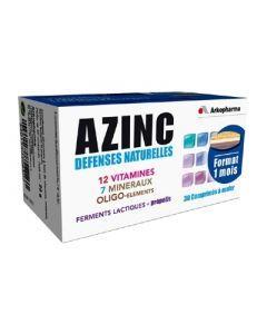 Arkopharma Azinc Défenses Naturelles 30 Comprimés