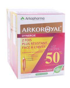 Arkopharma Arkoroyal Dynergie 40 jours - Lot de 2