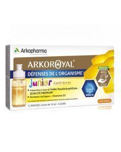 Arkopharma Arkoroyal Défenses de l'organismes Enfants 5 Unidoses de 10ml