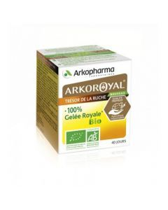 Arkopharma Arkoroyal Defenses Naturelles Gelée Royale Bio pot de 40g