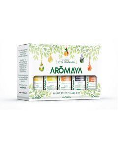 Aromaya Coffret Détox Printanière 5 Huiles Essentielles