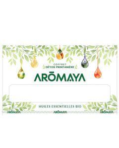 Aromaya Coffret Detox Printanière 5 Huiles Essentielles