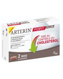 Arterin Fort Plus Levure de Riz Rouge + Coenzyme Q10 60 Comprimés