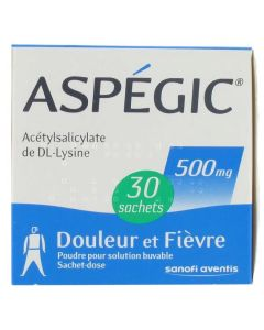 Aspégic 500 mg