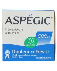 Aspégic 500 mg