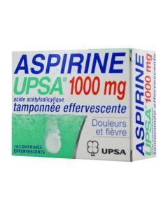 UPSA Aspirine Comprimé Effervescent 1 g x20 Comprimés Effervescents