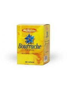 Nat&Form Huile de Bourrache + Vitamine E 200 Capsules