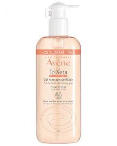 Avène Trixera Nutrition Gel Nettoyant Nutri-Fluide 500ml