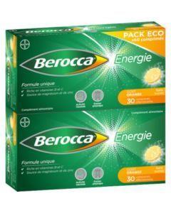 Berocca Energie Gout Orange 60 comprimés effervescents