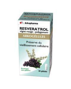 Arkopharma Arkogélules Resveratrol 30 Gélules